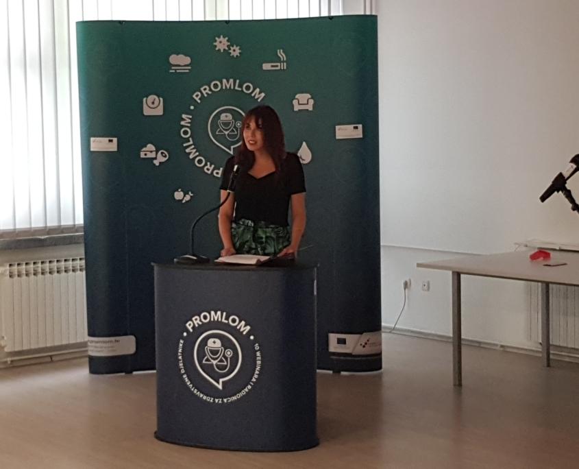 moderatorica Ana Mašić, dr.med.